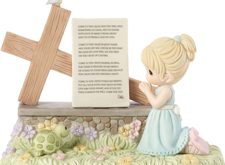 Come To The Cross Bisque Porcelain Chapel Exclusive Figurine