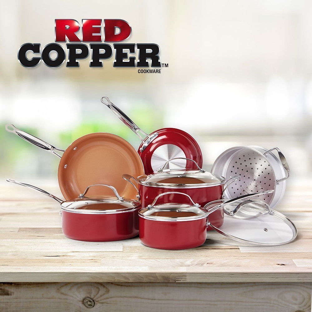 Red Copper Cookware