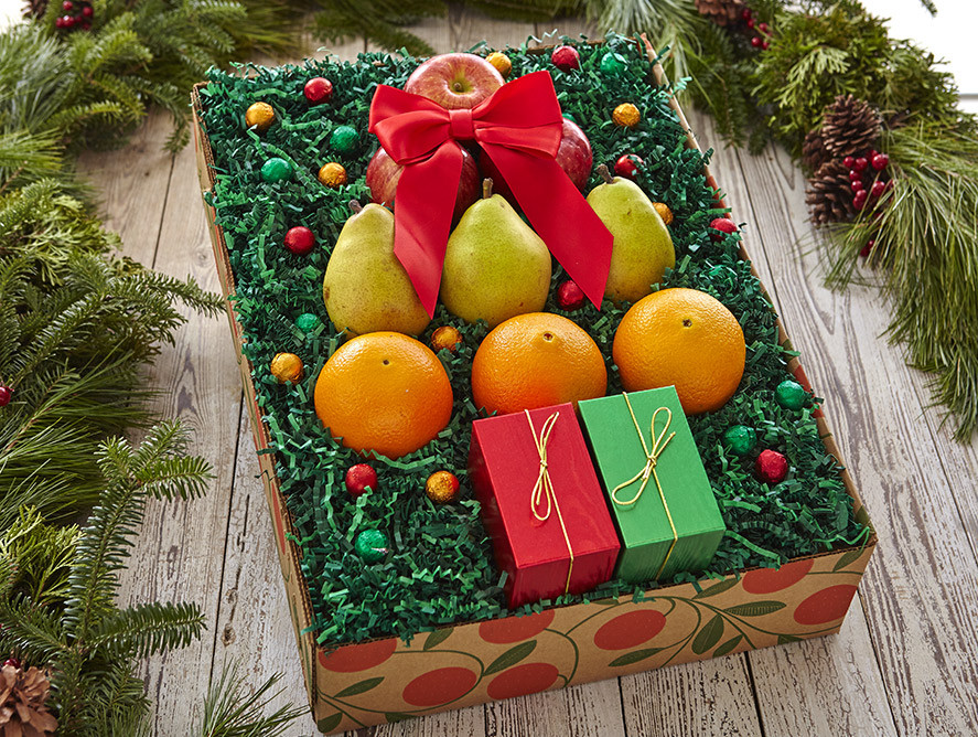 Discount Christmas Fruit Baskets