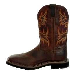 Men's Justin Driller Tan Stampede Boots