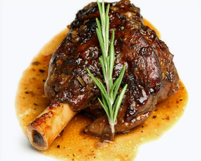Texas Rosemary Lamb Shanks