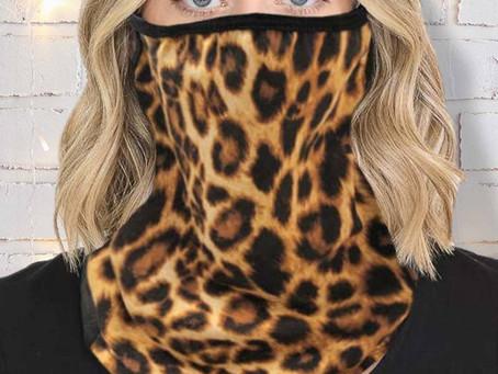 Leopard Neck Gaiter Scarf