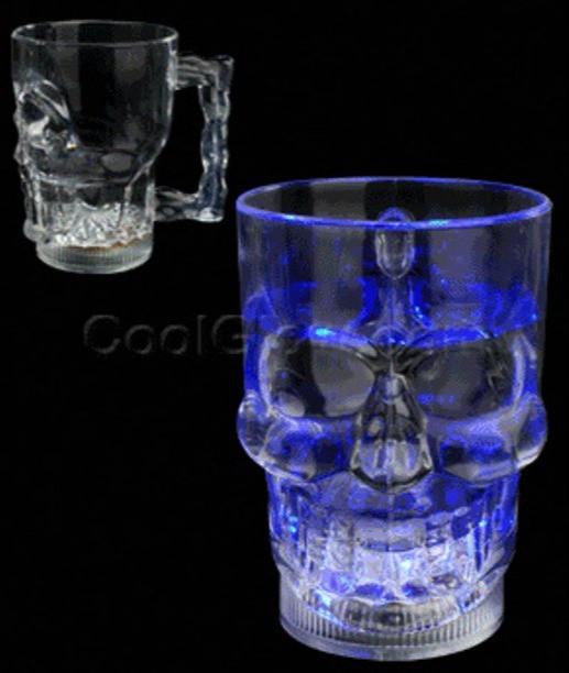 Discount LED Skull Mugs