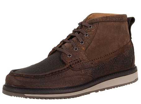 Men's Ariat Lookout Lace-Up Leather and Suede Casual Shoes 10014153
