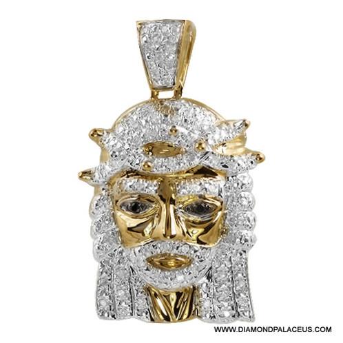 10ky 025ctw diamond jesus head pendant diamond palace jewelrs 10ky 025ctw diamond jesus head pendant diamond palace jewelrsgoldsilverjewelry repair 7005639157 mozeypictures Gallery