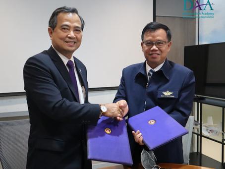 พิธีลงนาม MOU ร่วมกับ Thai Inter Flying