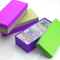 Cajas rígidas de papel