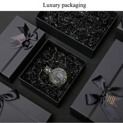 Black Top & Botto Rigid Boxes for Perfum