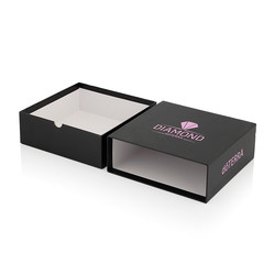 Drawer Rigid Boxes with finger slot