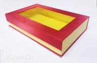 Cajas rígidas personalizadas Caja abierta con solapa