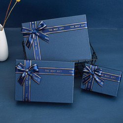 Paper Boxes with Ribbon