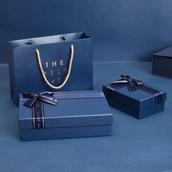 Rigid Boxes with paper Bags