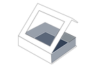 Window Flap rigid boxes sivakasi