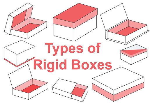 Types of Paper Rigid Boxes Drawings-01.j