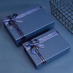 Blue Rigid Boxes