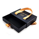 Drawer Rigid Boxes with Ribbon in India,