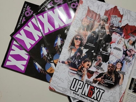 UPN6XT Media managed to get a page in the XXL Freshmen magazine solely dedicated to Toronto artists,