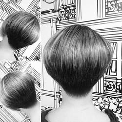 Balance&shape #simpleshapes #haircut #sh