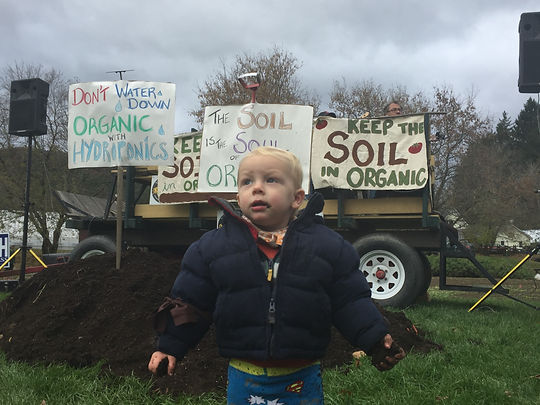 Keep the Soil in Organic