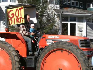 Scenes from the Farmer Protest
