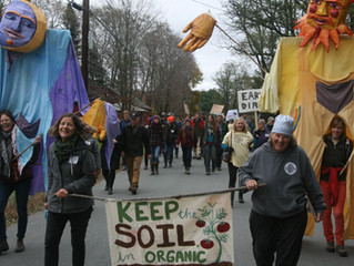 """""""Organic without soil is like democracy without people."""""""