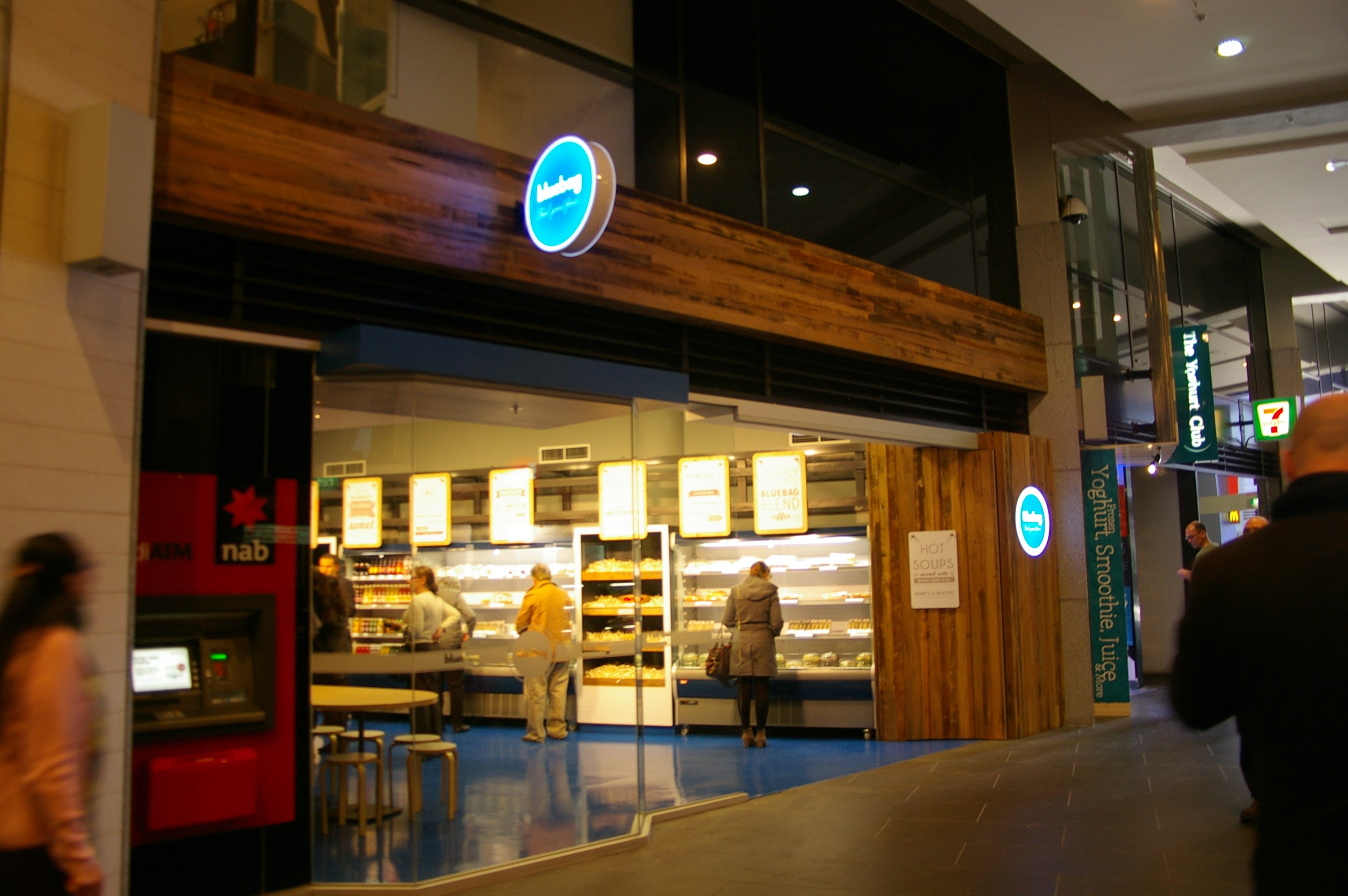 Bluebag Cafe - Freshwater Place