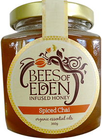 Chai Australian honey infused raw honey with organic plant oils