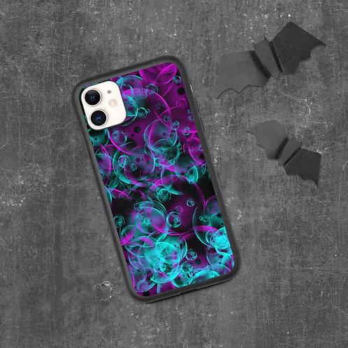 bubbles Biodegradable phone case