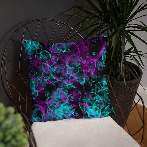 Bubbles Basic Pillow