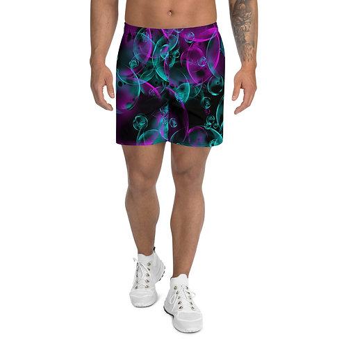 Bubbles Men's Athletic Long Shorts