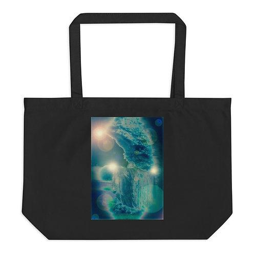 Orb Trance Large organic tote bag