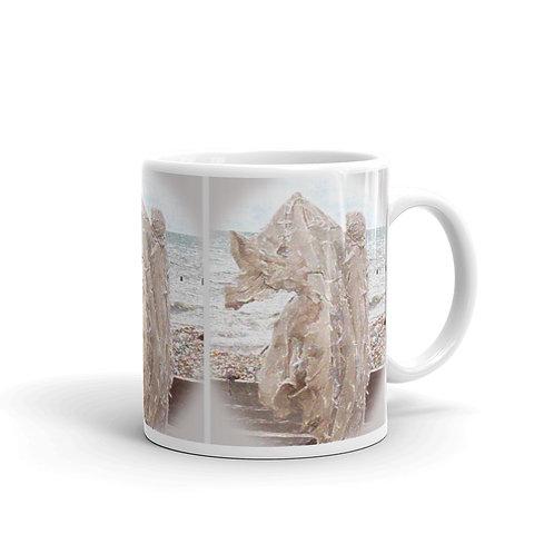 The Crystaline Shroud glossy mug