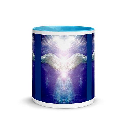 Violet Angel Mug with Color Inside
