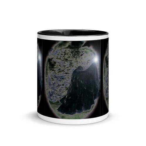 The Black Velvet Magician Mug with Color Inside