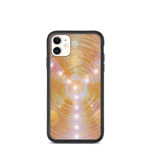 Light Code Vortex Biodegradable phone case