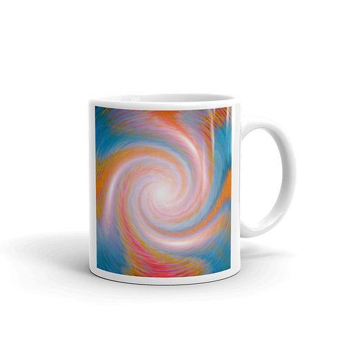 Arch Angel Michael Vortex glossy mug