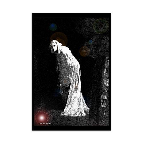 Gothic Ghost Standard Postcard