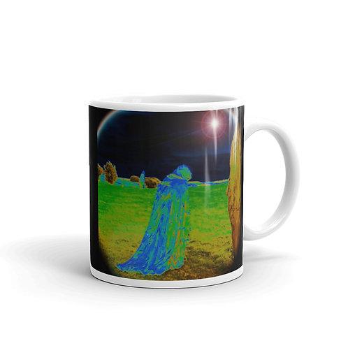 The Rainbow Druids glossy mug