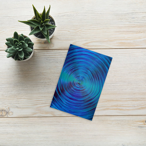 Pluto Vortex Postcard