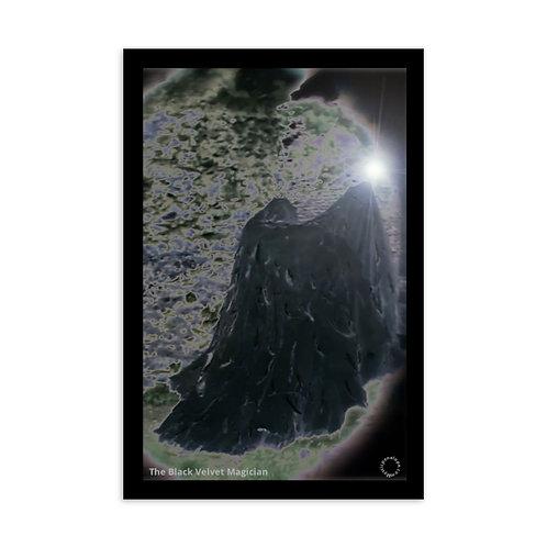 The Black Velvet Magician Postcard