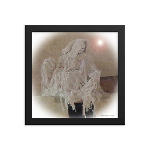 The Ivory Marionette Framed photo paper poster