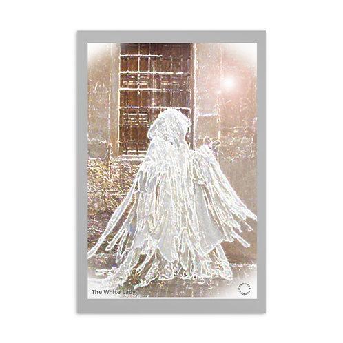 The White Lady Postcard