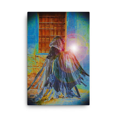 The Rainbow Light Bearer Canvas
