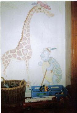 Turtle & giraff