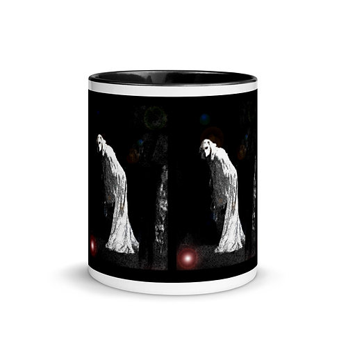 Gothic Ghost Mug with Color Inside