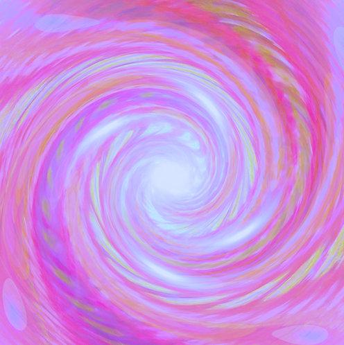 Unconditional love, magenta vortex