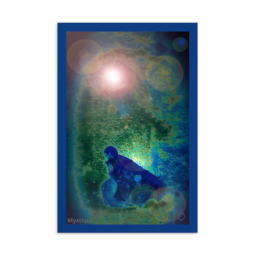 Mystique Postcard