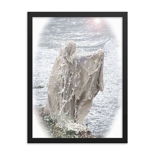 The Crystaline Call ffor Freedom Framed poster