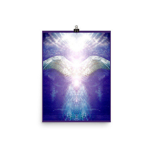 Violet Angel Poster