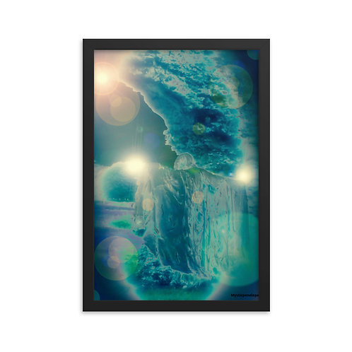 Orb Trance Framed poster by Mysticpenelope